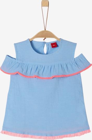 s.Oliver Junior Bluse in hellblau / pink, Produktansicht