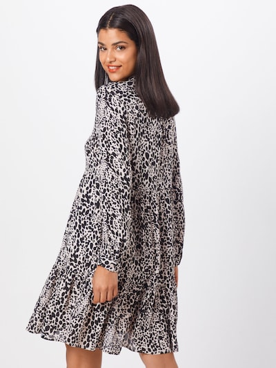 Superdry Robe-chemise 'SCANDI SHIRT DRESS' en noir / blanc: Vue de dos