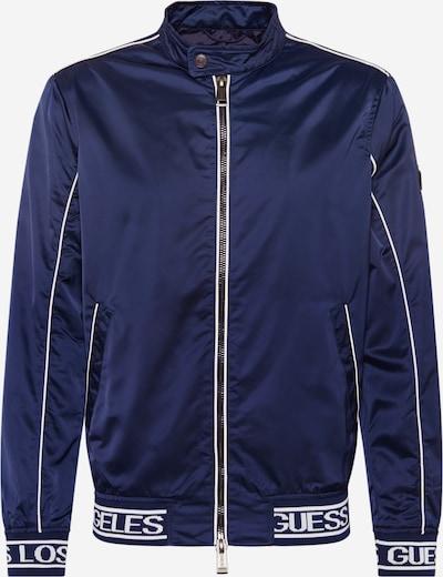 GUESS Prechodná bunda 'ICONIC LOGO JKT' - námornícka modrá, Produkt
