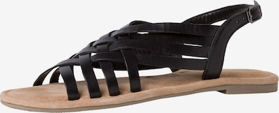 TAMARIS Sandale in schwarz, Produktansicht