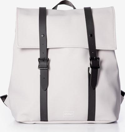 SPIRAL Rucksack 'CROWN' in schwarz / weiß, Produktansicht