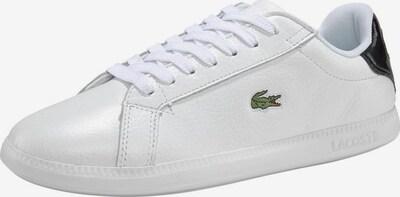LACOSTE Sneaker 'GRADUATE' in schwarz / weiß, Produktansicht