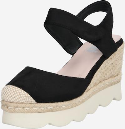 Xti Sandalette in sand / schwarz, Produktansicht