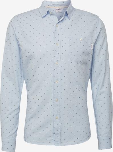 Hailys Men Hemd 'Minimal' in hellblau, Produktansicht