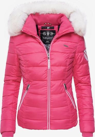 NAVAHOO Winterjacke ' Khingaa's ' in pink: Frontalansicht