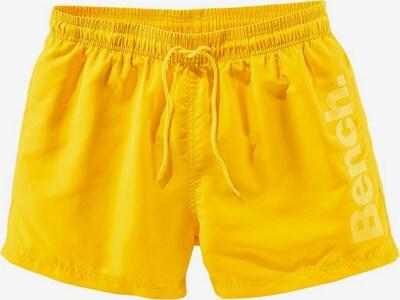 BENCH Badeshorts in gelb, Produktansicht