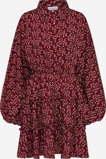 LeGer by Lena Gercke Košulja haljina 'Franziska' u krvavo crvena / crna, Pregled proizvoda