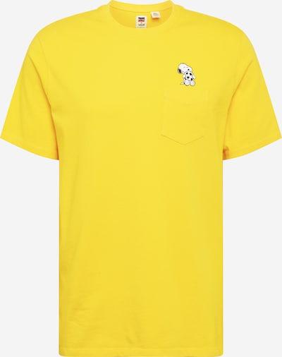 LEVI'S Shirt 'SUNSET' in gelb / schwarz / weiß, Produktansicht