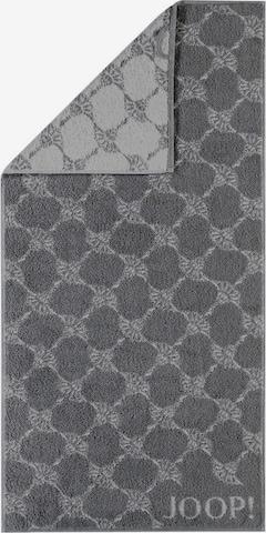 JOOP! Shower Towel 'Cornflower' in Grey