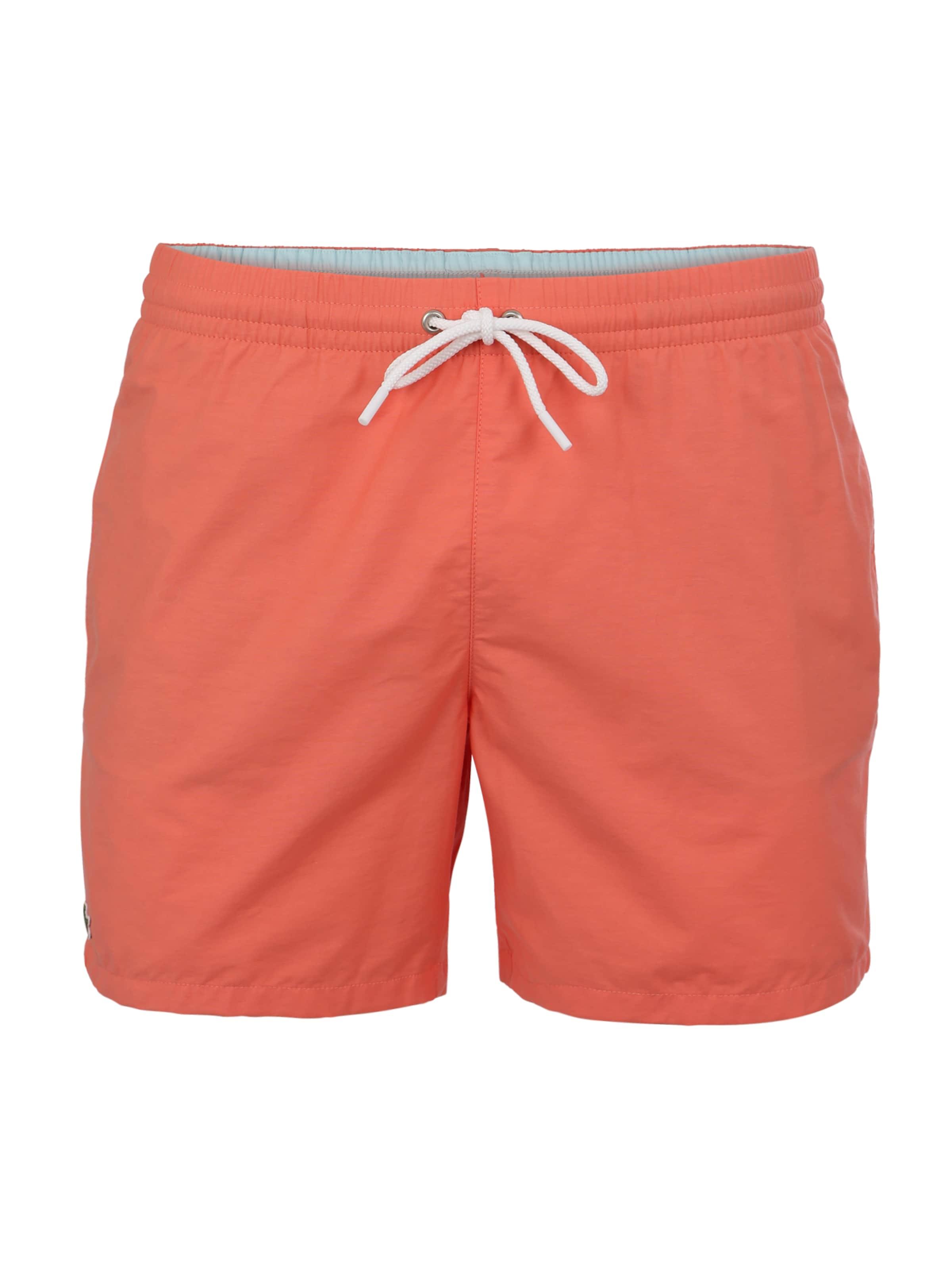 De En Foncé Orange Shorts Bain Lacoste hxrtdQsC