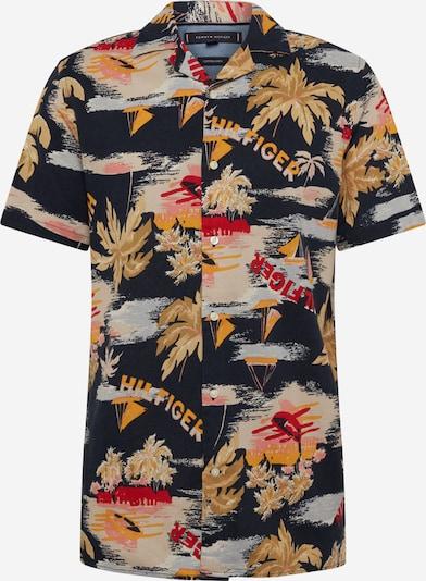 TOMMY HILFIGER Hemd 'HAWAIIAN' in dunkelblau / mischfarben, Produktansicht