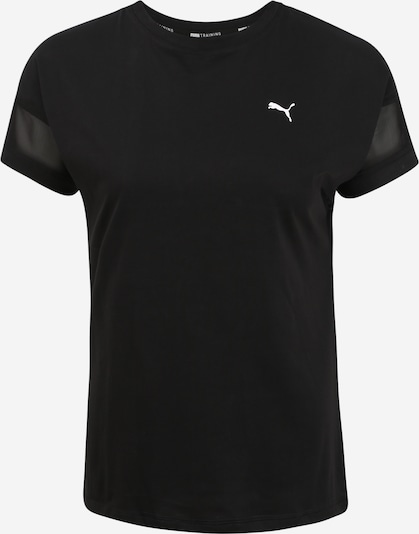 PUMA T-Shirt 'Feel It' in schwarz, Produktansicht