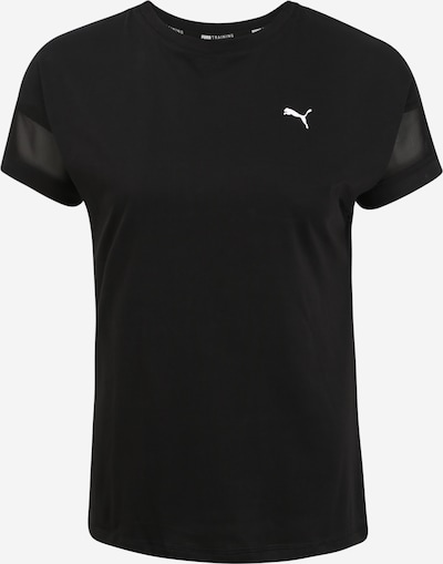 PUMA T-Shirt 'Feel It' in schwarz: Frontalansicht