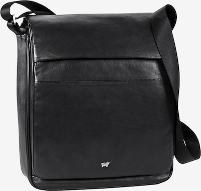Braun Büffel Schoudertas 'Golf' in de kleur Zwart, Productweergave