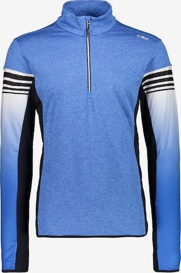 CMP Shirt in hellblau / schwarz / weiß, Produktansicht