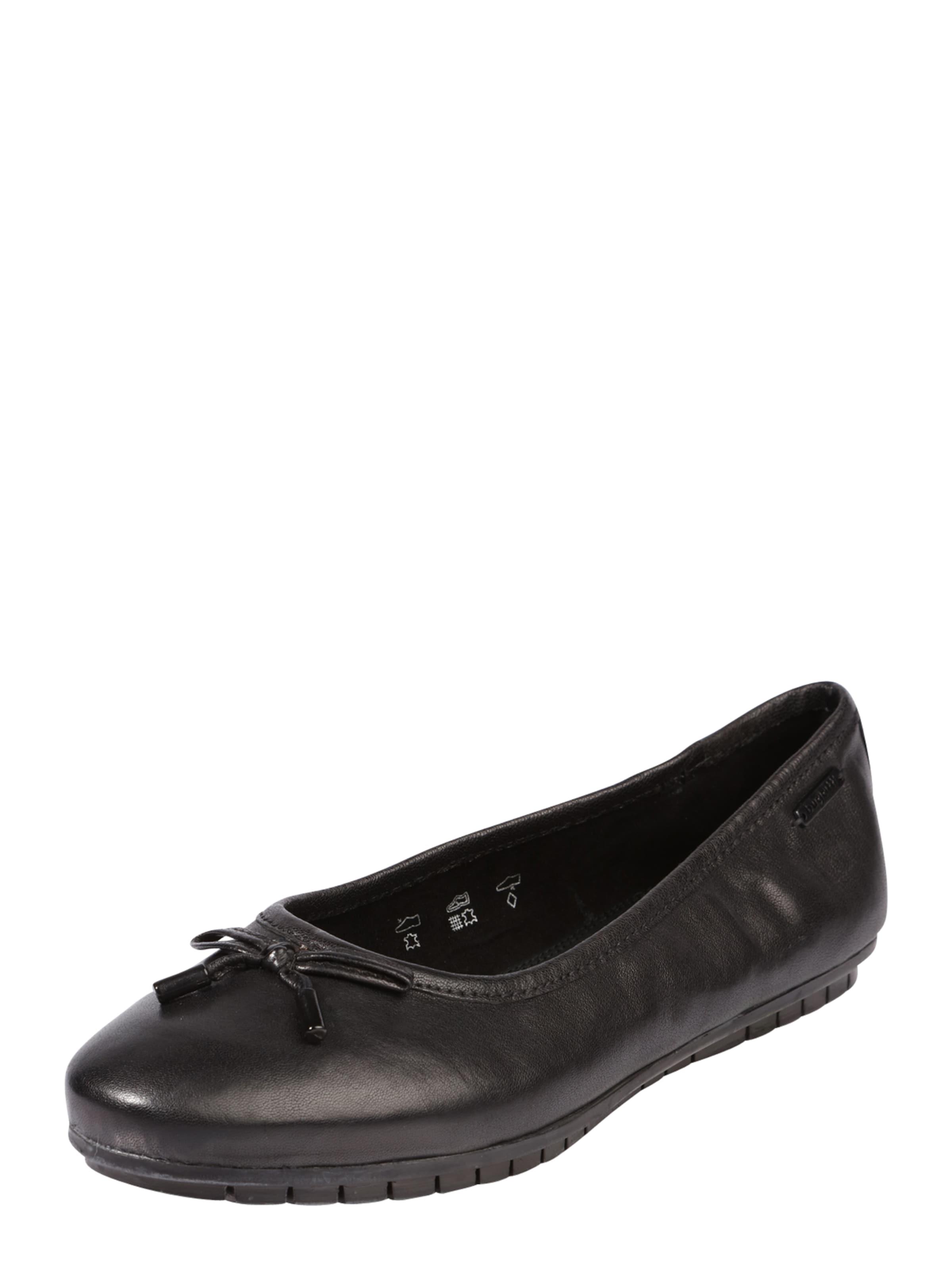 bugatti Ballerina mit Zierschleife Verschleißfeste billige Schuhe