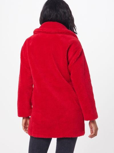 GAP Přechodná bunda 'V-SHERPA OVER COAT' - červená: Pohled zezadu