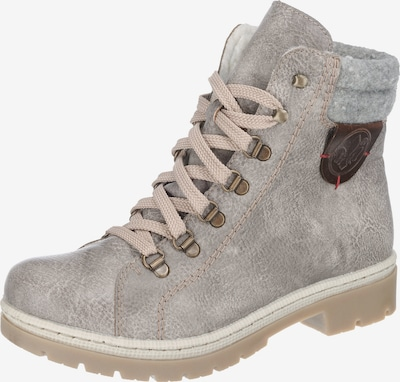 RIEKER Lace-Up Ankle Boots in Grey, Item view
