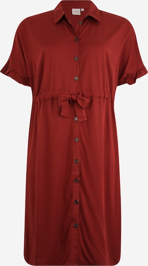 Junarose Robe de soirée 'JRALWIA 2/4 SLEEVE BELOW KNEE DRESS - K' en marron châtaigne, Vue avec produit