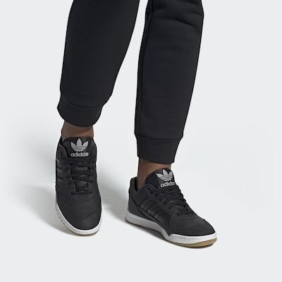 ADIDAS ORIGINALS Zemie apavi 'A.R. Trainer' pieejami melns: Priekšējais skats