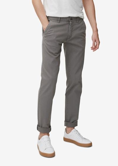 Marc O'Polo Pantalon chino en gris, Vue avec modèle