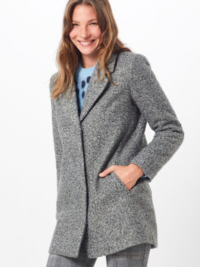 VILA Mantel 'Jessi' in grau, Modelansicht