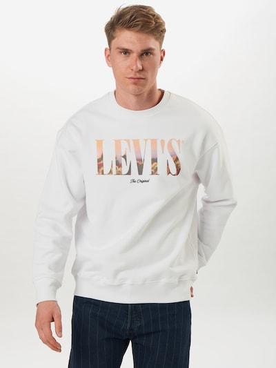 LEVI'S Bluzka sportowa w kolorze białym: Widok z przodu
