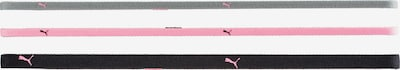 PUMA 'Fit AT' Haarband in grau / pink / schwarz, Produktansicht