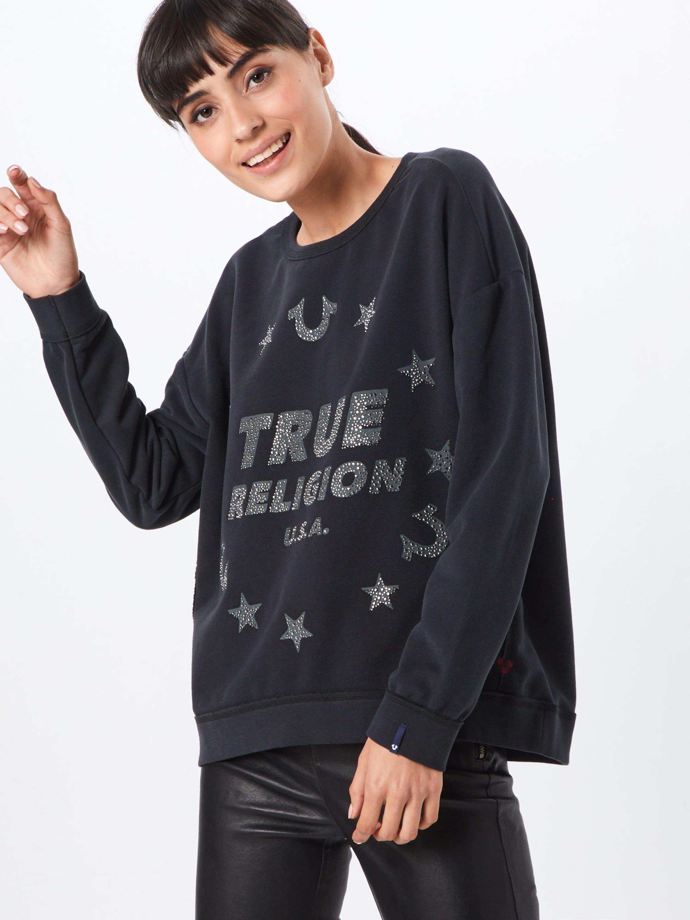 shirt Religion Noir En True 'stars' Sweat Ov0N8nwm
