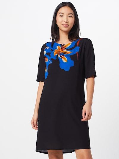 Desigual Kleid 'VEST PISTILO' in blau / orange / schwarz, Modelansicht