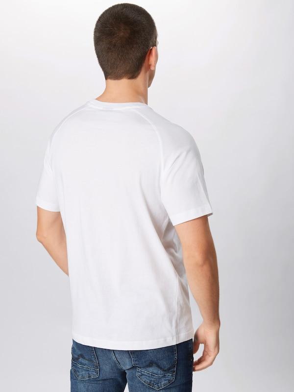 En Champion T shirt Apparel Athletic 'crewneck' Blanc Authentic ED9IH2