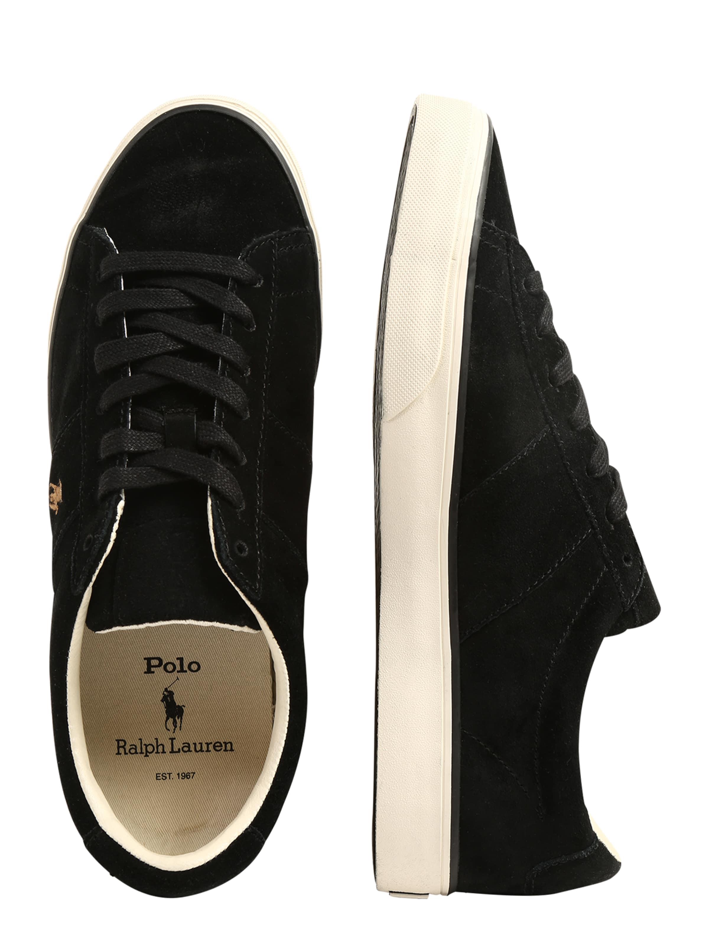 Basses En Baskets 'sayer' Noir Polo Ralph Lauren N80nmvw