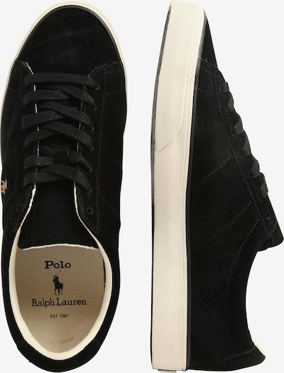 POLO RALPH LAUREN Sneakers laag 'SAYER' in de kleur Zwart: Zijaanzicht