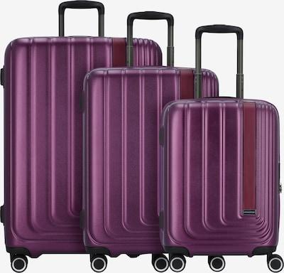 March15 Trading Kofferset 'Beau Monde' in lila, Produktansicht