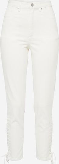 EDITED Skinny Jeans 'Tatia' in white denim: Frontalansicht
