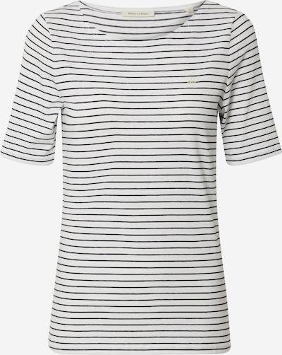 Marc O'Polo T-shirt en noir / blanc perle, Vue avec produit