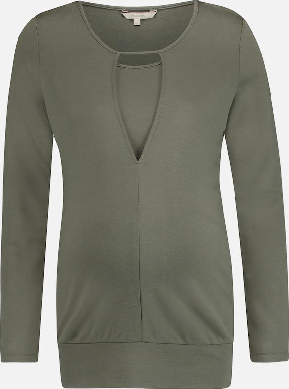 Noppies Shirt 'Liz' in khaki  Große Preissenkung