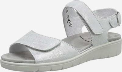 SEMLER Sandalen in silber, Produktansicht