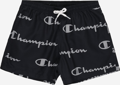 Champion Authentic Athletic Apparel Badeshorts 'Beachshort' in navy / weiß, Produktansicht