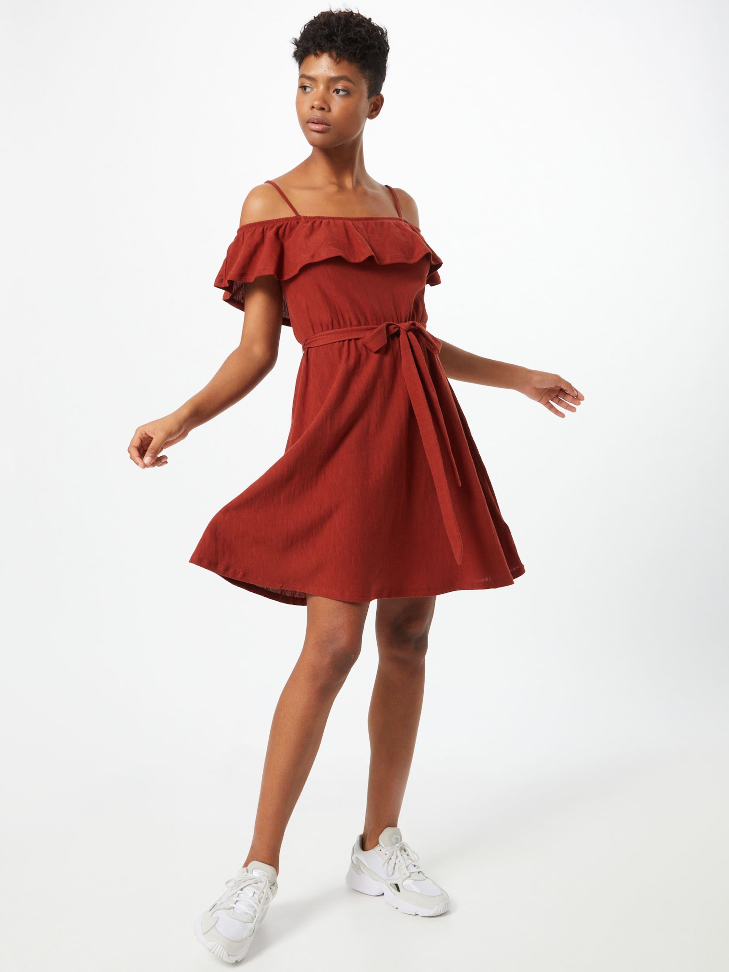 ABOUT YOU Klänning 'Pamela Dress' i rostbrun