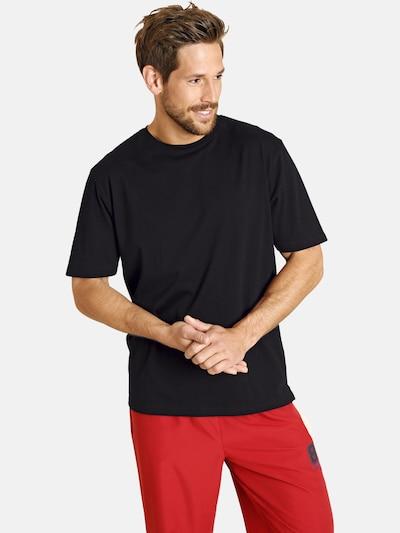 Jan Vanderstorm Shirts 'Erke' in schwarz: Frontalansicht