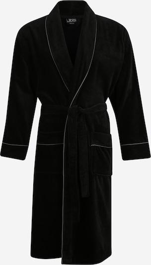 jbs Bademantel in schwarz / weiß, Produktansicht