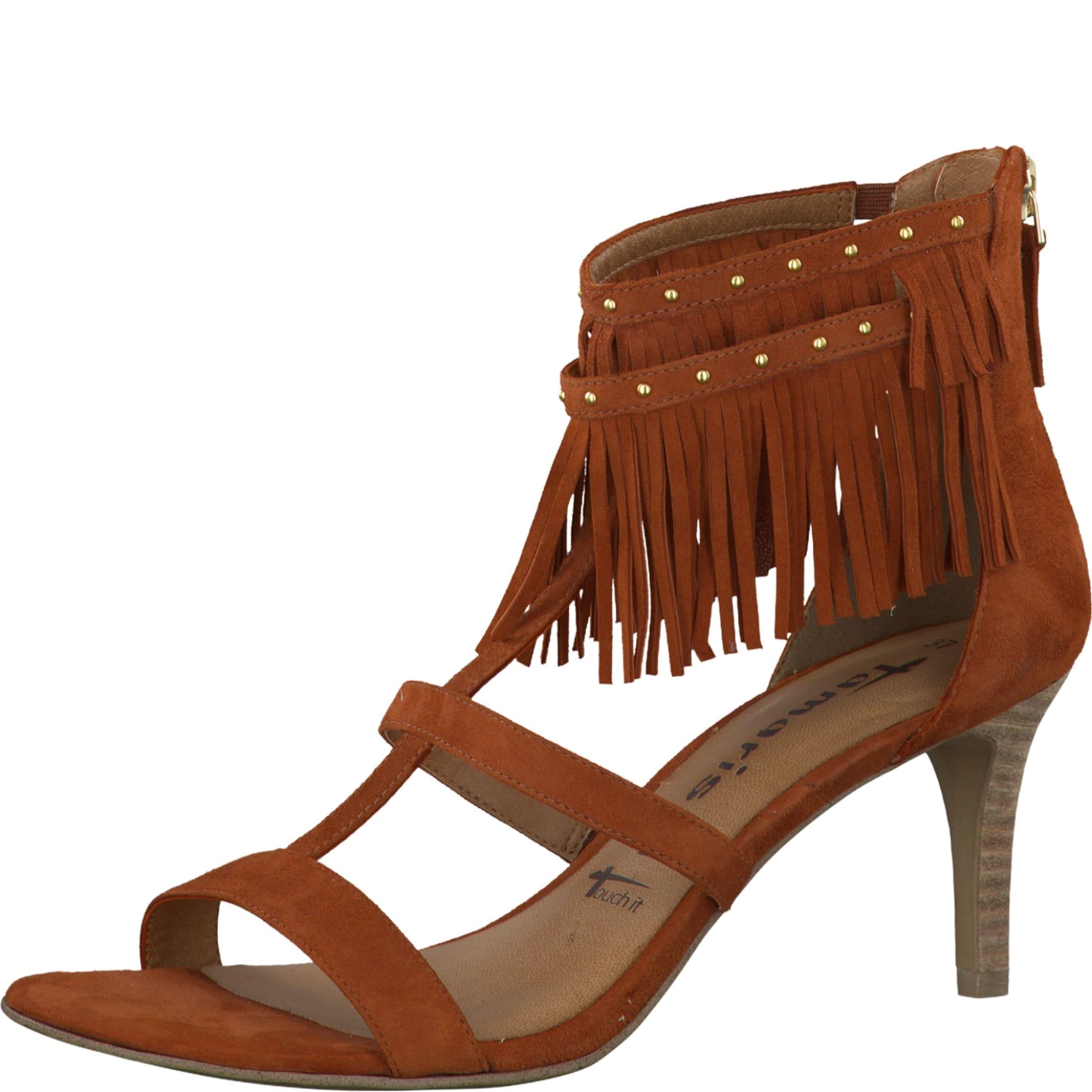 Haltbare Mode billige Schuhe TAMARIS | Sandalette 'Da' Schuhe Gut getragene Schuhe