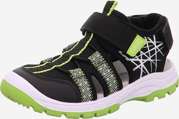 SUPERFIT Sneaker 'TORNADO' in Schwarz