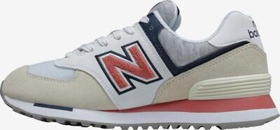 new balance Sneaker 'WL574' in beige / blau / grau / rosa / weiß, Produktansicht
