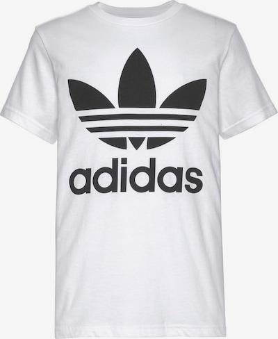 ADIDAS ORIGINALS T-Shirt 'Trefoil' in schwarz / weiß, Produktansicht