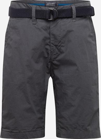 Petrol Industries Pantalon chino en gris foncé, Vue avec produit