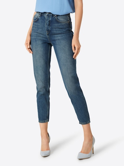 SELECTED FEMME Jeans in de kleur Blauw denim, Modelweergave