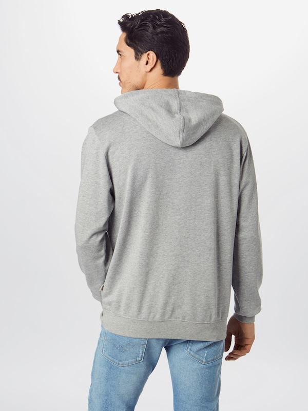 bleed clothing Sweatshirt 'Eco Fair Yeah Hoody' in grau: Rückansicht