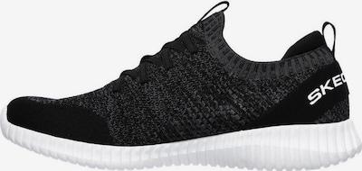 SKECHERS Sneaker in graumeliert / schwarz, Produktansicht